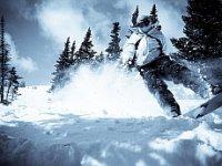 na snowboardzie