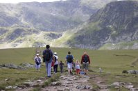 turyści w górach