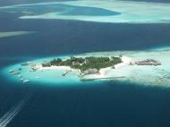 wyspa na Malediwach