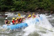 Rafting po rzece